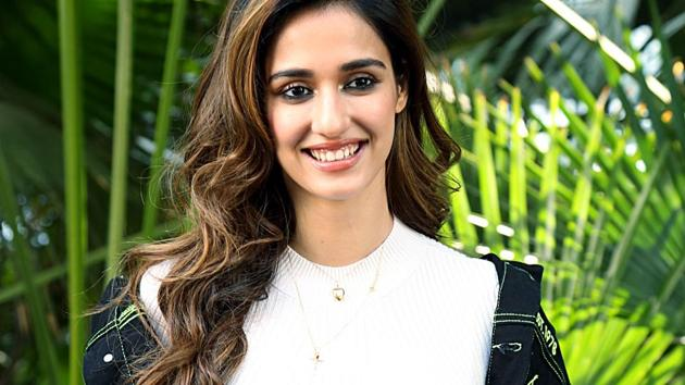 Disha Patani during a promotion of Malang, in New Delhi on Thursday.(AN)