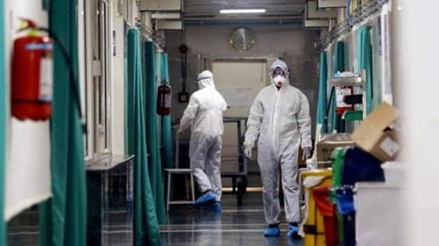 The virus, which has killed 213 people — all in China, is said to have originated from a seafood market in Wuhan. The World Health Organisation has declared an international public health emergency in view of the prevailing condition.(ANI PHOTO.)