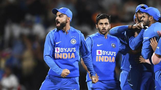 India vs New Zealand 4th T20I in Wellington Highlights: As it happened(AP)