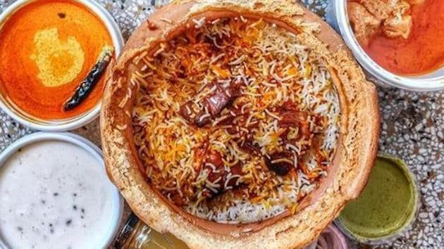 Biryani, butter chicken, dal makhani most searched Indian food globally.(Biryani By Kilo/Instagram)
