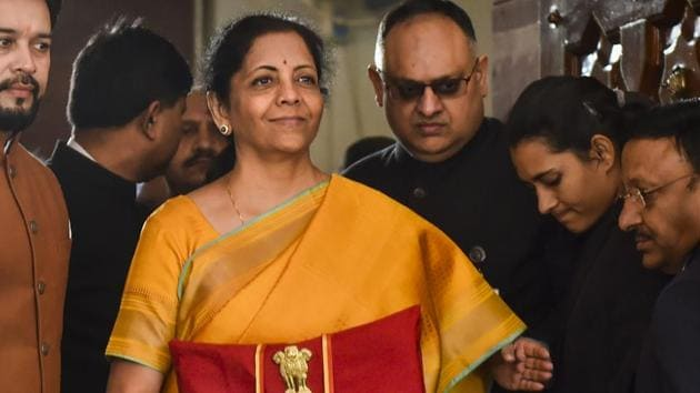 """On February 1, the finance minister stood up in Parliament to give the nation a three-hour lecture on India's prosperity in the """"Sindhu Saraswati"""" civilisation(PTI)"""