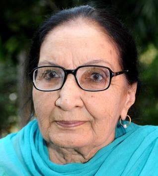 """In 2015, Dalip Kaur Tiwana had returned the Padma Shri bestowed on her to express solidarity with writers protesting against """"suppression of freedom of expression and growing communalism"""".(Bharat Bhushan/HT file photo)"""
