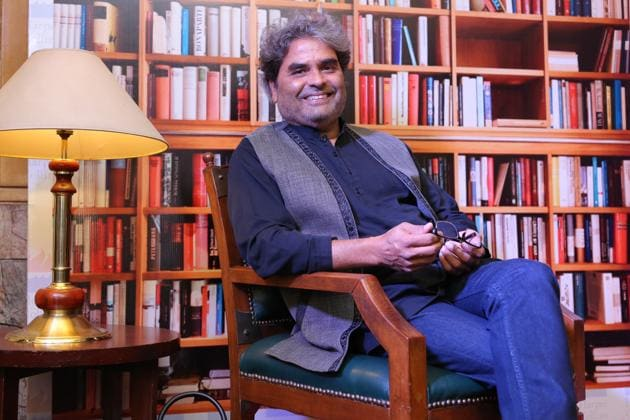 Vishal Bhardwaj was speaking on the first day of the Deccan Literature Festival during a session on 'Creative Side of Commercial Cinema' at Balgandharva Rangmandir in Pune.(HT FILE Photo)