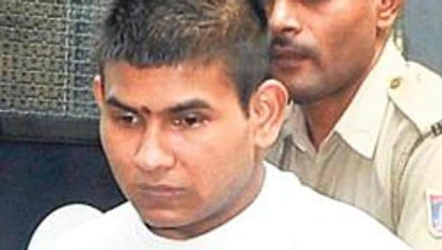 Vinay Sharma is one of the four convicts in the Dec 16 Delhi gang rape case.(HT File)