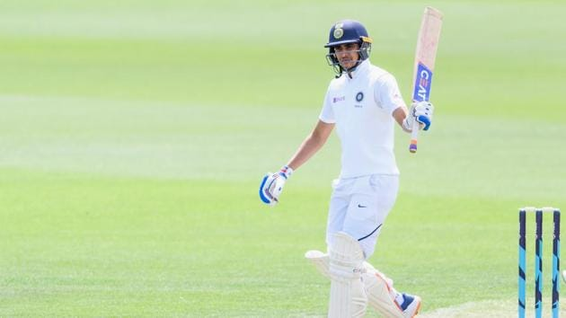 Shubman Gill during the Test series between New Zealand A and India A at Hagley Oval.(Getty Images)