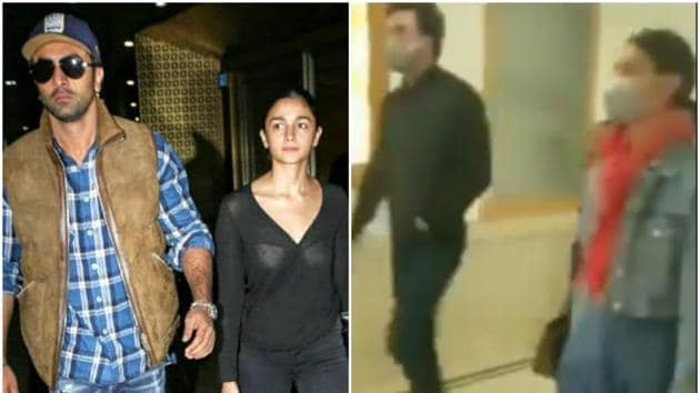 Ranbir Kapoor and Alia Bhatt were in Delhi to see Rishi Kapoor, who was hospitalised for an infection.