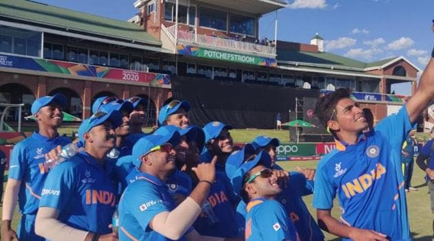 India vs Pakistan U19 World Cup semifinal Live Streaming(Cricket World Cup/Twitter)