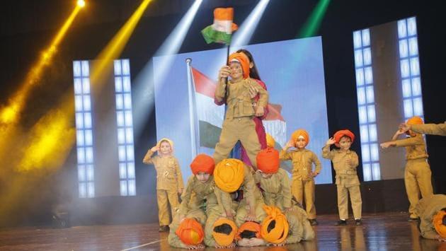 Students of Kapol Vidyanidhi International School, Kandivli portrayed the contribution of different professions through dance.