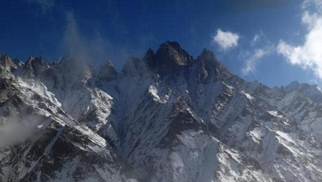 An aerial view of the Gangotri glacier / Photo: DMMC