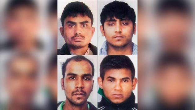 The four men had been convicted for the gang rape of the 23-year-old paramedic trainee on a cold December night in 2012 within just about a year of the horrific crime.(Photo: PTI)