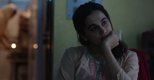 Taapsee Pannu and Pavail Gulati in a still from Thappad song Ek Tukda Dhoop.
