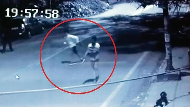 Police obtained CCTV footage of the crime and the photos of the suspects were analysed with the criminal database.(Sourced)