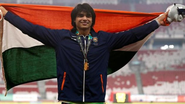 File image of Indian javelin thrower Neeraj Chopra.(REUTERS)