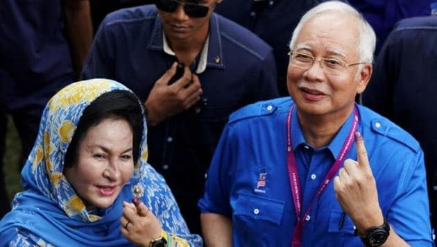 Malaysia's former first lady, who allegedly bankrolled a luxurious lifestyle with kickbacks and stolen public money, went on trial Wednesday(Reuters)