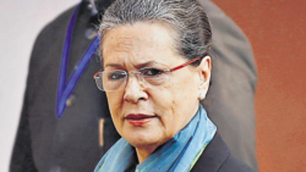 Congress president Sonia Gandhi(HT File)