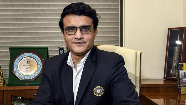 File image of BCCI president Sourav Ganguly.(PTI)