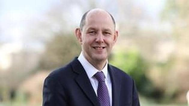 Philip Barton replaces Dominic Asquith has been appointed the new high commissioner to India.(Govt of UK/Sourced)