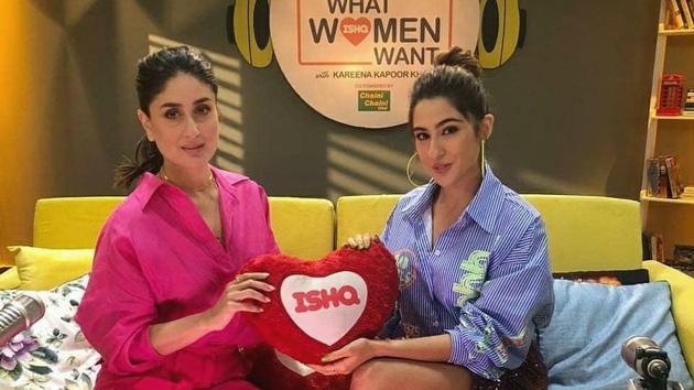 Sara Ali Khan and Kareena Kapoor Khan discussed modern relationships.