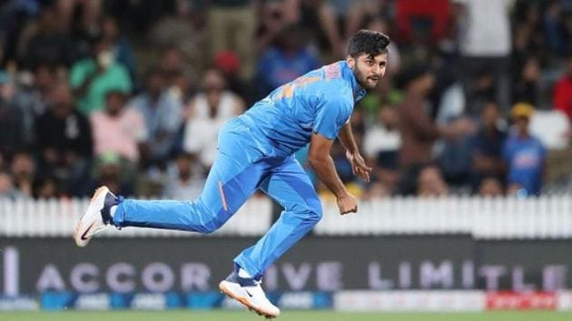 Shardul Thakur's selection was a questionable one in the first ODI against New Zealand(Twitter)