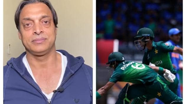 Shoaib Akhtar talks about Pakistan's defeat against India at U19 World Cup.(HT Collage)