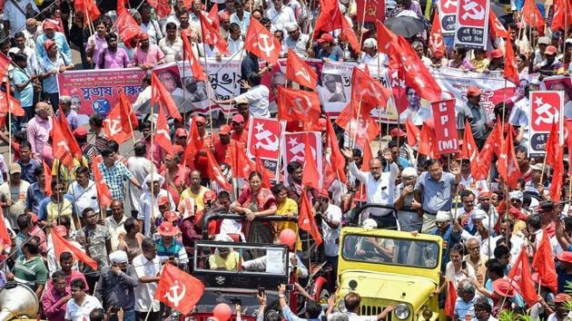 Some CPI(M) workers had supported the BJP in the Lok Sabha polls fearing violence by the TMC cadre, state unit secretariat member, Amal Haldar said .(PTI File Photo)