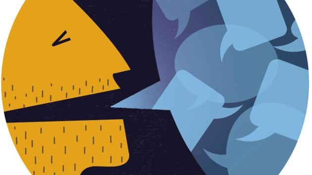 A brickbat is more nasty than a mere negative word; its use implies an insult hurled at a target with an intent to wound, and therefore can only be applied to extremely blunt criticism(HT Illustration: Gajanan Nirphale)