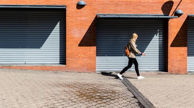 Texting while walking more dangerous than talking on phone.(Unsplash)