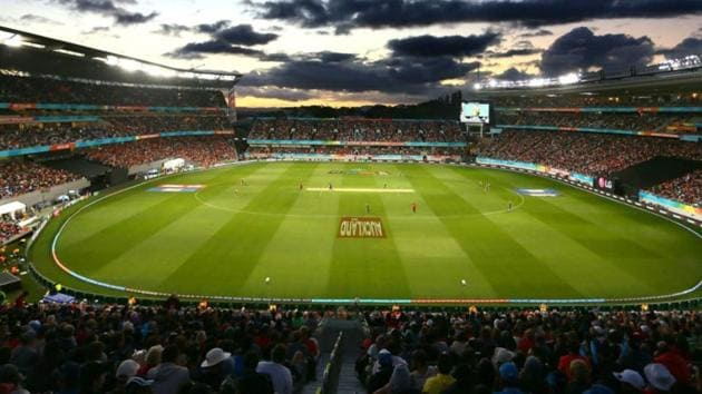 Eden Park, Auckland - the venue for the India vs New Zealand 2nd ODI.(Twitter)