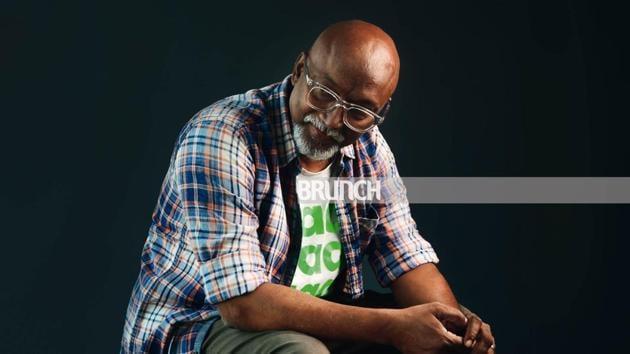 Bose Krihsnamachari co-founded Kochi-Muziris Biennale in 2012; Spectacles, John Jacob; T-shirt, MAAT Museum, Portugal; shirt, Pepe; belt and shoes, Diesel; pants, Colourplus(Abhijit Bhatlekar)