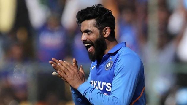 File image of India cricketer Ravindra Jadeja.(AP)