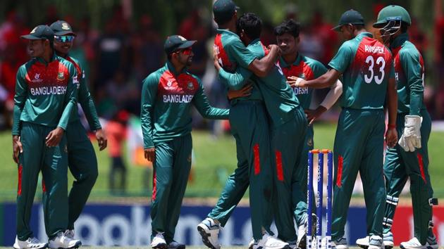 Bangladesh U19 team win World Cup trophy.(Cricket World Cup/Twitter)