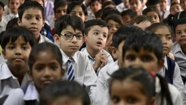 Schools will have to submit a report to the district education office with details of the function accompanied by photographs.(HT file)