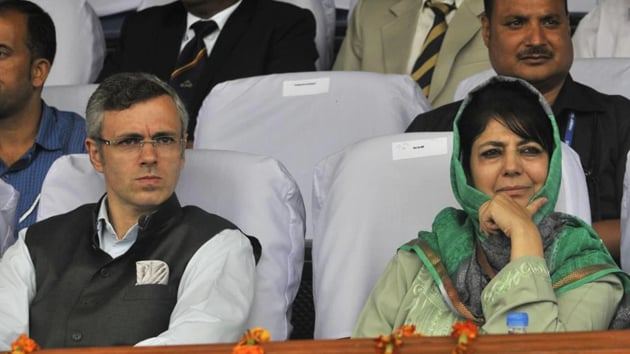 The government has shown no tangible evidence which suggests that the Abdullahs or Ms Mufti had done anything to stir violence or seek to break up the Union.(Waseem Andrabi/ Hindustan Times)