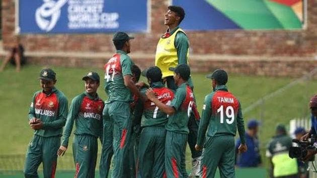 Bangladesh defeated India in the U19 World Cup final.(Twitter)
