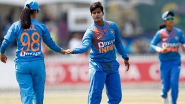 India face Australia in the women's T20 tri-series.(Twitter)