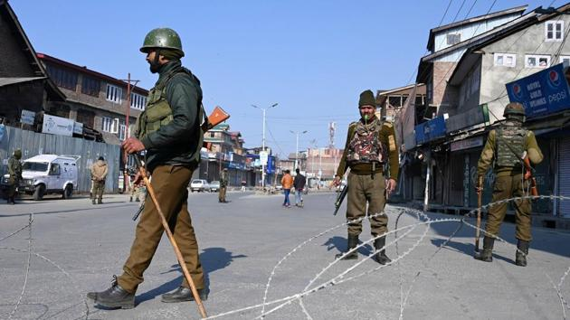 Lone was arrested in August and was first lodged at a hotel in Srinagar. He was then shifted to a legislators' hostel and booked under the PSA on Sunday.(AFP file photo)