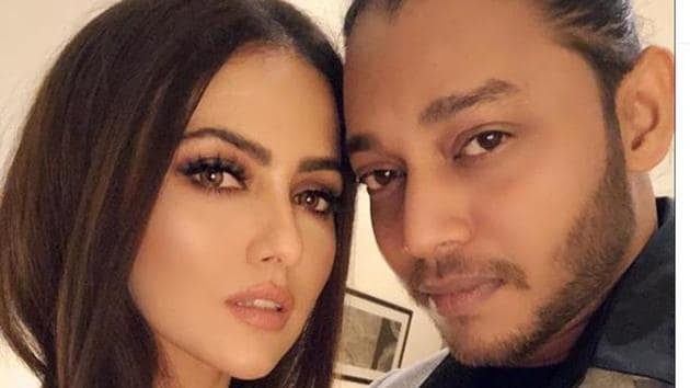 Sana Khan had announced her relationship last year.