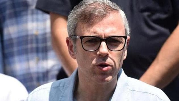 File photo of former Jammu and Kashmir chief minister Omar Abdullah.(Waseem Andrabi/HT Photo)