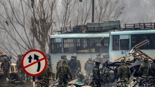The Pulwama terror attack was carried out on February 14, 2019 in south Kashmir, killing at least 40 CRPF soldiers. The Pulwama attack brought India and Pakistan to the brink of war with the Indian Air Force destroying a terror camp deep inside Pakistan's Balakot. (Image used for representation).(PTI PHOTO.)
