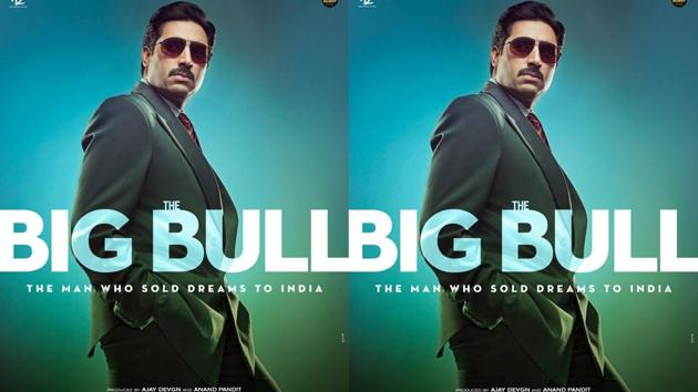 The Big Bull poster: Abhishek Bachchan film is inspired by the 1992 securities scam.
