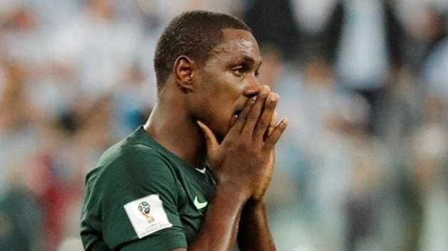 File image of Nigeria striker Odion Ighalo.(REUTERS)