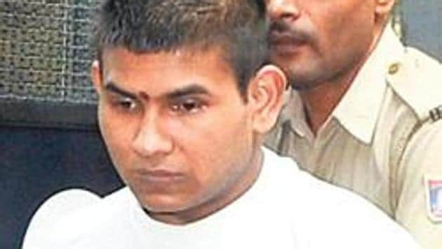 Vinay Sharma filed the petition in the top court against the President's decision to reject his mercy plea.(HT FILE Photo)