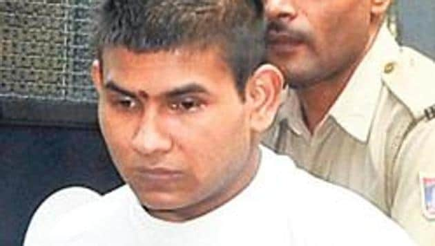 Vinay Sharma is one of the four convicts in the December 2012 Delhi gang rape case.(HT File Photo)