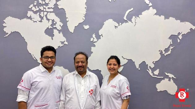 Royal Dental Clinics was founded in Mumbai in 1983 by Dr. Arun Chamria.(Digpu)