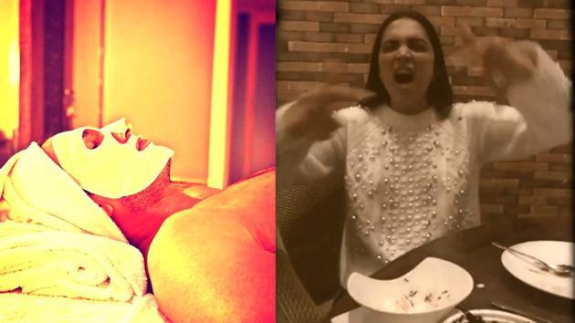 Deepika Padukone raps Ranveer Singh's Apna Time Aayega, he calls her 'a cheerleader'.