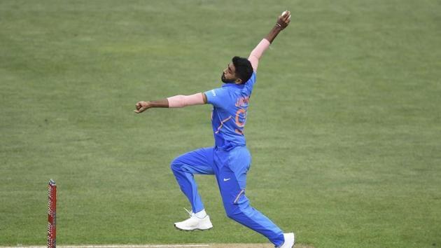 File image of Jasprit Bumrah(AP)