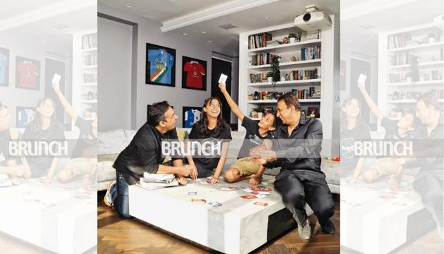 HT Brunch Cover Story: Game night at the Gavaskars'