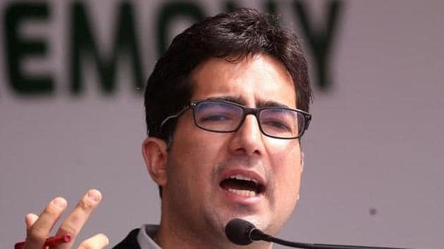 Shah Faesal was first detained on August 14, 2019 at New Delhi airport.(REUTERS Photo/File)