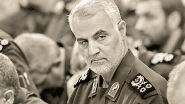 Top Iranian General Qasem Soleimani's was killed in US airstrike at Baghdad airport on January 3, 2020.(AP File Photo)