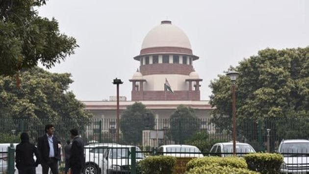 The directions were given by the apex court on February 12 by way of an office order issued by the court on its administrative side.(Sonu Mehta/HT File PHOTO)